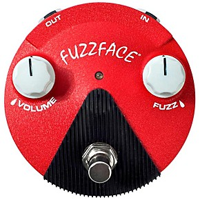 dunlop band of gypsys fuzz face mini guitar effects pedal musician 39 s friend. Black Bedroom Furniture Sets. Home Design Ideas