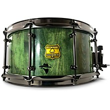 Bandit Series Snare Drum with Black Hardware 14 x 6.5 in. Gallop Green