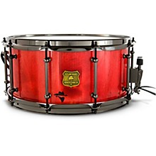 Bandit Series Snare Drum with Black Hardware 14 x 6.5 in. Reckon Red