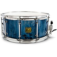 Bandit Series Snare Drum with Chrome Hardware 14 x 6.5 in. Bandit Blue