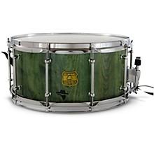 Bandit Series Snare Drum with Chrome Hardware 14 x 6.5 in. Gallop Green