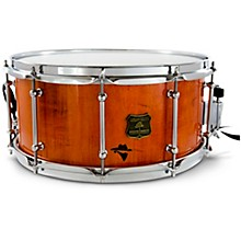 Bandit Series Snare Drum with Chrome Hardware 14 x 6.5 in. Outlaw Orange Sparkle
