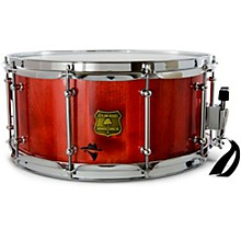 Bandit Series Snare Drum with Chrome Hardware 14 x 6.5 in. Reckon Red