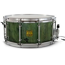 Bandit Series Snare Drum with Chrome Hardware 14 x 7 in. Gallop Green