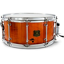 Bandit Series Snare Drum with Chrome Hardware 14 x 7 in. Outlaw Orange Sparkle