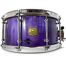 Bandit Series Snare Drum with Chrome Hardware 14 x 7 in. Perilous Purple Sparkle