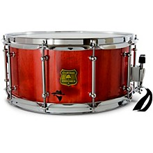 Bandit Series Snare Drum with Chrome Hardware 14 x 7 in. Reckon Red