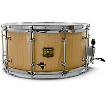 Bandit Series Snare Drum with Chrome Hardware 14 x 8 in. Notorious Natural Wood