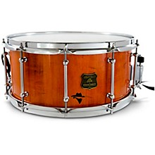 Bandit Series Snare Drum with Chrome Hardware 14 x 8 in. Outlaw Orange Sparkle