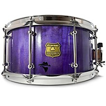 Bandit Series Snare Drum with Chrome Hardware 14 x 8 in. Perilous Purple Sparkle