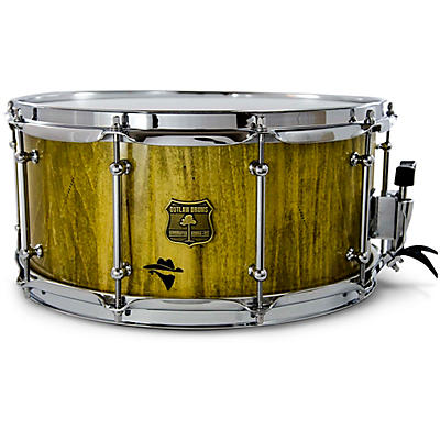 OUTLAW DRUMS Bandit Series Snare Drum with Chrome Hardware