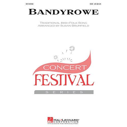 Hal Leonard Bandyrowe 3 Part Treble arranged by Susan Brumfield