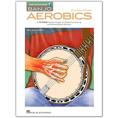 Hal Leonard Banjo Aerobics - Book/Online Audio