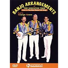 Homespun Banjo Arrangements of The Kingston Trio DVD/Instructional/Folk Instrmt Series DVD Written by George Grove
