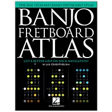 Hal Leonard Banjo Fretboard Atlas (Get a Better Grip on Neck Navigation!)
