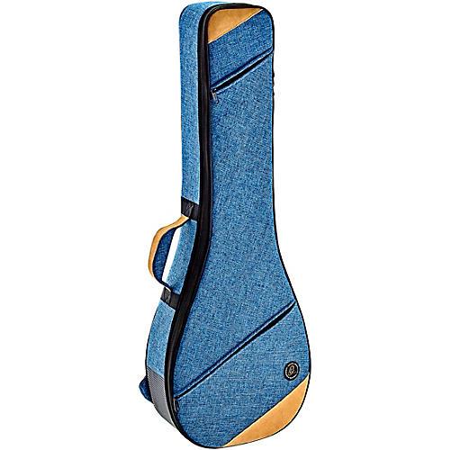 Ortega Banjo Reinforced Soft Case Blue Black