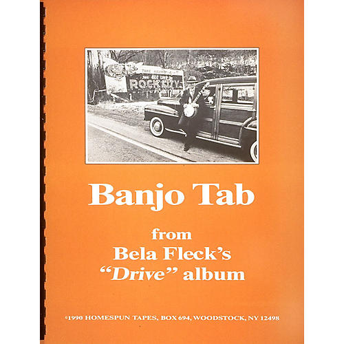 Hal Leonard Banjo Tab From Bela Fleck's Drive Album Homespun Tapes Series Performed by Bela Fleck