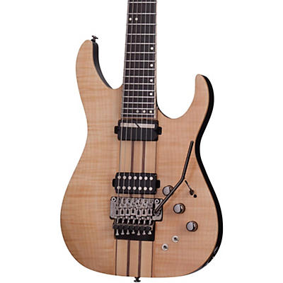 Schecter Guitar Research Banshee Elite-7 with Floyd Rose and Sustainiac Seven-String Electric Guitar