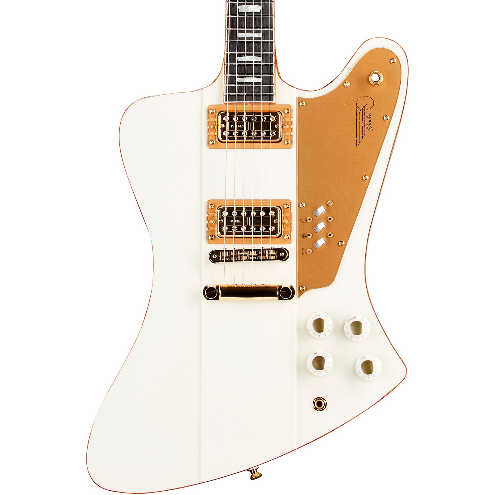 Kauer Guitars Banshee White Hawk Electric Guitar