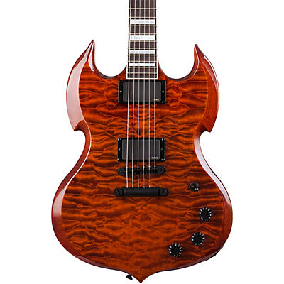 Wylde Audio Barbarian 6-String Electric Guitar Sabertooth Tiger