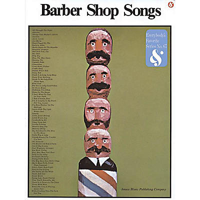 Music Sales Barbershop Songs Music Sales America Series Softcover  by Various