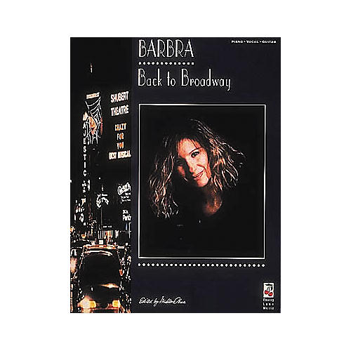 Cherry Lane Barbra Streisand - Back To Broadway Book