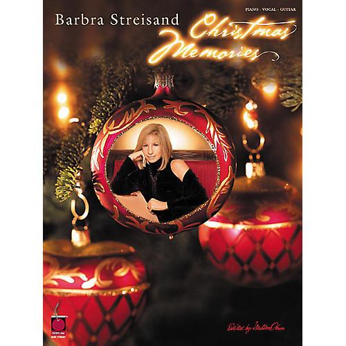 Cherry Lane Barbra Streisand - Christmas Memories Book