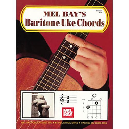 Mel Bay Bari Uke Chords Book Musicians Friend
