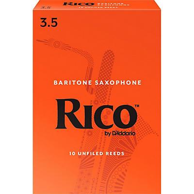 Rico Baritone Saxophone Reeds, Box of 10