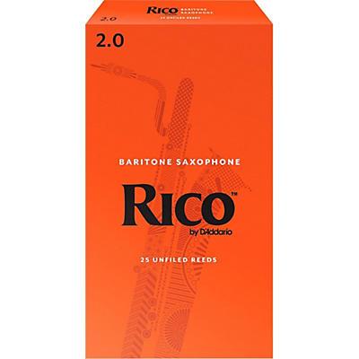 Rico Baritone Saxophone Reeds, Box of 25