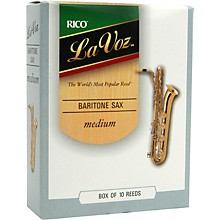 Baritone Saxophone Reeds Medium Box of 10