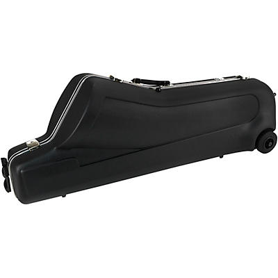 J. Winter Baritone Saxophone Shaped Case (with wheels) Thermoshock