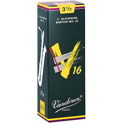 Vandoren Baritone Saxophone V16 Reeds Box of 5