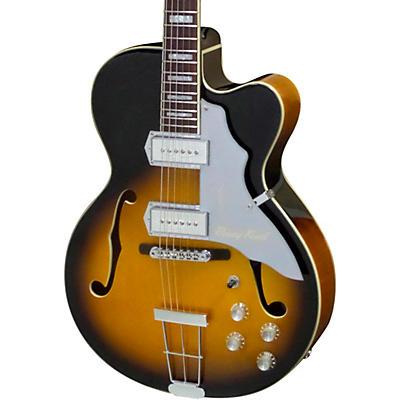 "Kay Vintage Reissue Guitars Barney Kessel Gold ""K"" Signature Series Artist Semi-Hollow Electric Guitar"