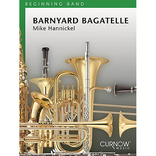Curnow Music Barnyard Bagatelle (Grade 1 - Score Only) Concert Band Level 1 Composed by Mike Hannickel