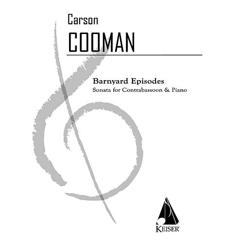 Lauren Keiser Music Publishing Barnyard Episodes (Sonata for Contrabassoon and Piano) LKM Music Series