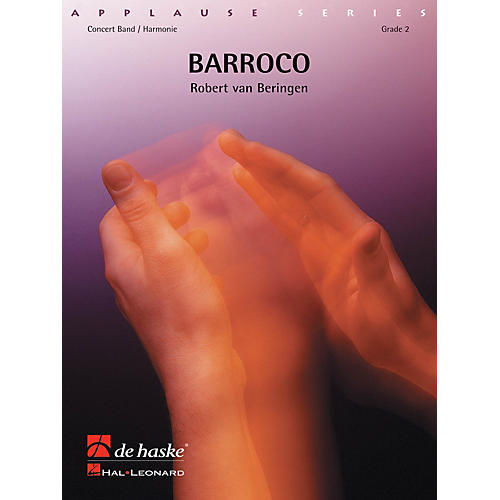 Hal Leonard Barocco Score Only Concert Band