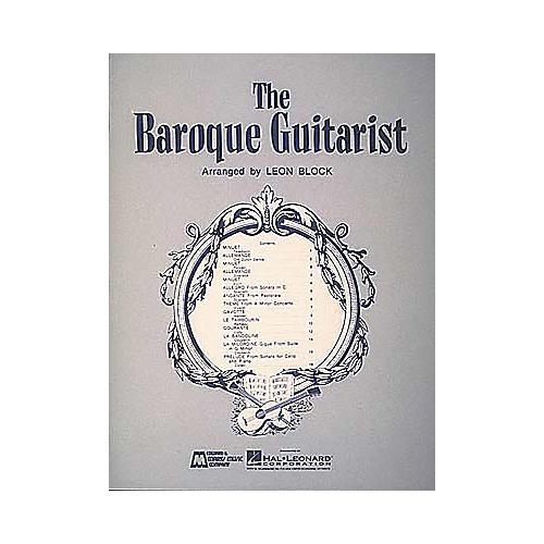 Edward B. Marks Music Company Baroque Guitarist Book