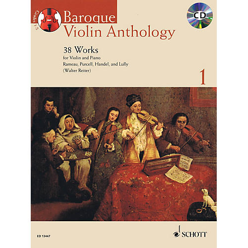 Schott Baroque Violin Anthology - Volume 1 String Series Softcover with CD