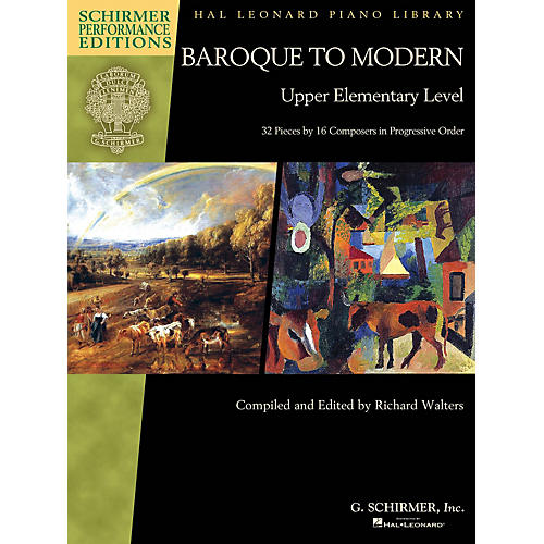 G. Schirmer Baroque to Modern: Upper Elementary Level Schirmer Performance Editions Softcover