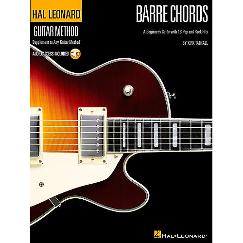 Hal Leonard Barre Chords - Guitar Method Supplement (Book/CD)