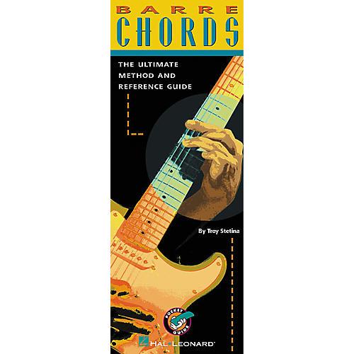 Hal Leonard Barre Chords For Guitar Book