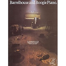 Music Sales Barrelhouse and Boogie Piano Music Sales America Series Softcover with CD Written by Eric Kriss