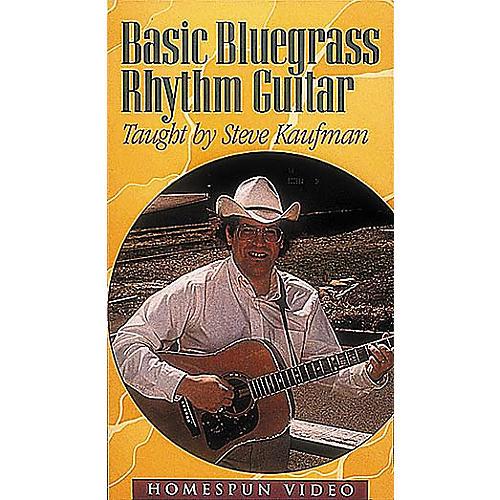 Homespun Basic Bluegrass Rhythm Guitar (VHS)