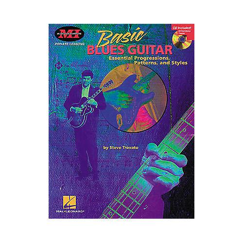 Hal Leonard Basic Blues Guitar Book/CD Package