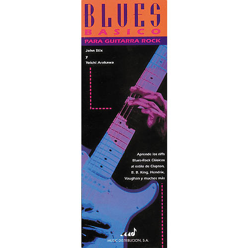 Hal Leonard Basic Blues for Rock Guitar Book