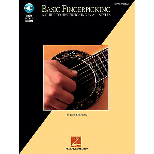 Hal Leonard Basic Fingerpicking (Book/Online Audio)
