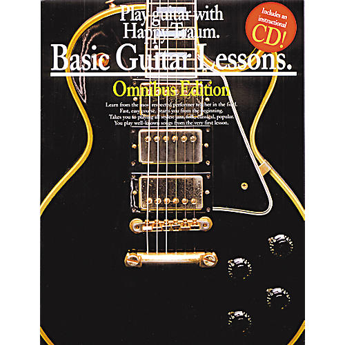 Music Sales Basic Guitar Lessons Books 1,2,3 and 4  (Book/CD)