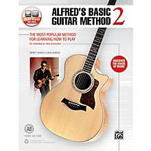 Alfred Basic Guitar Method 2 3rd Edition Book & Online Audio