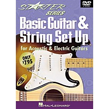 Hal Leonard Basic Guitar & String Set Up (Starter Series DVD) Starter Series (Video) Series DVD Written by Tom Kolb